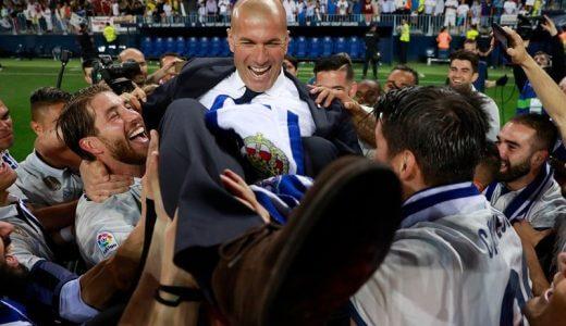 レアル・マドリードが2年ぶり11度目のチャンピオンズリーグ制覇!ジネディーヌ・ジダンは選手と監督で優勝を経験。